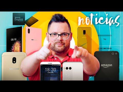 NOTICIAS ANDROID | Meizu Pro 7, Amazon Ice Phone, Nuevos Galaxy J, Exynos 9610