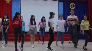 Thực hành bài nhảy | Tập luyện quay MV Duyên dáng nữ sinh | 2017.10.10.(02)