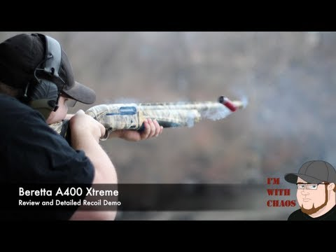Beretta A400 Xtreme Review and Detailed Recoil Demo!
