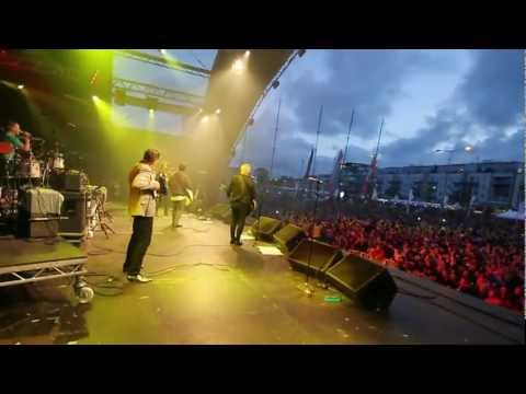 Saw Doctors Live At Volvo Ocean Race Galway 2012 - Joyce Country Ceili Band