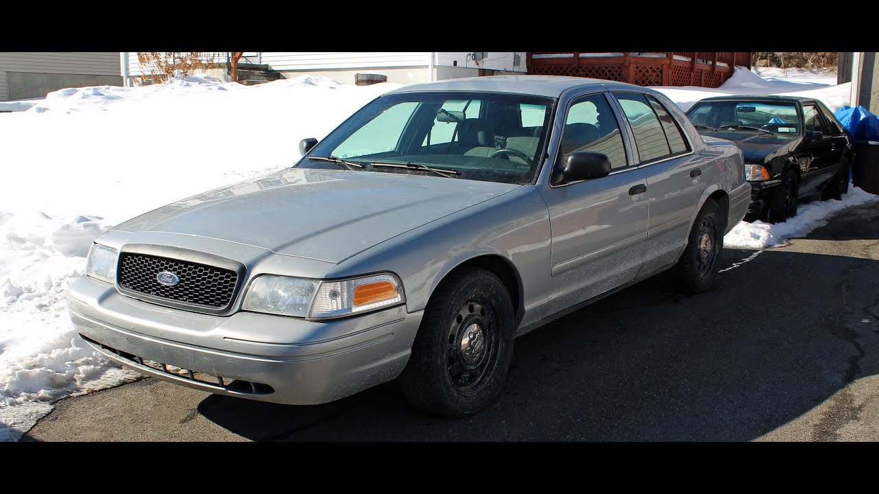 2008 CROWN VICTORIA P71 POLICE INTERCEPTOR - YouTube