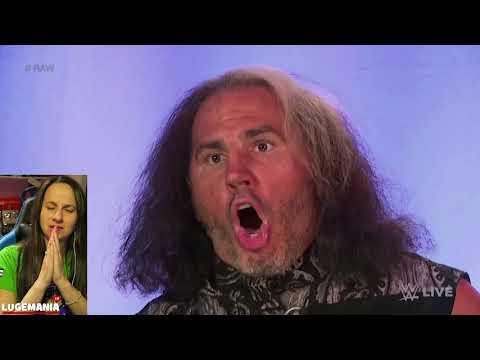 WWE Raw 4/23/18 Bray Wyatt Woken Matt Hardy backstage