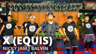 X (EQUIS) by Nicky Jam ft J.Balvin | Zumba® | TML Crew Jay Laurente