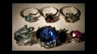 Are the stones in your silver jewelry  REAL or not