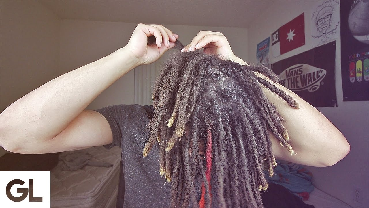 How To Get Dreadlocks With Straight Hair Youtube