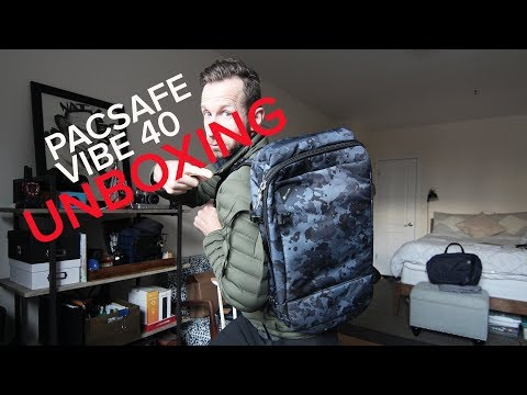 e77673471 SAFEST CARRY-ON EVER? Full Review PacSafe Vibe 40 - YouTube
