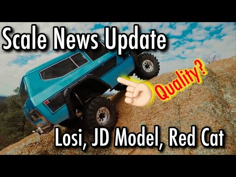 Scale News Update - Losi, RC4WD, Red Cat- Episode 44