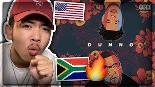 Stogie T - Dunno (ft. Nasty C) AMERICAN REACTION! South African Musician Music | US / USA REACTS