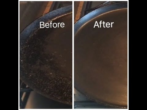 How to clean non stick tawa | how to clean dosa tawa | Dosa pan cleaning | non stick tawa cleaning