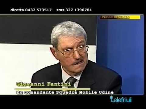 29.01.2014 Telefriuli, Friuli in Giallo Il mostro di Udine, con il criminalista Francesco Altan