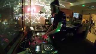 GET HORSES w. Whang et Juub - DJ Set dans le Cosmic Show (14/03/2015)
