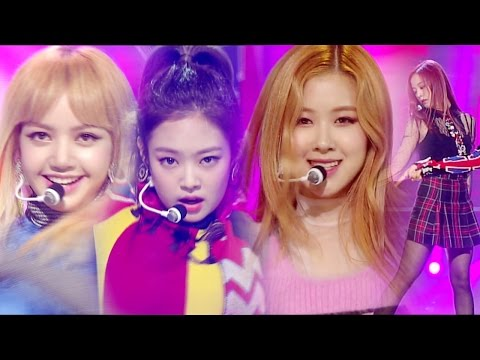 《EXCITING》 BLACKPINK (블랙핑크) - PLAYING WITH FIRE (불장난) @인기가요 Inkigayo 20161113
