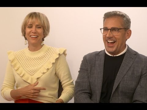 Kristen Wiig and Steve Carell Mimic Each Other - Despicable Me 3 EXCLUSIVE INTERVIEW