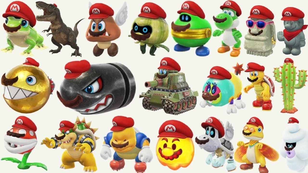 Super Mario Odyssey All Captures Gameplay Doovi