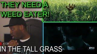 IN THE TALL GRASS Official Trailer (2019) Stephen King, Patrick Wilson Horror Movie REACTION!!!