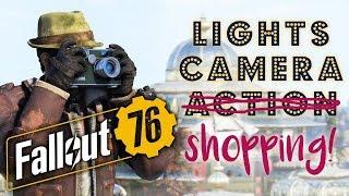 Fallout 76: Lights, Camera, Shopping