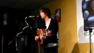 Hostage of Love: Johnny Borrell live acoustic at Mtn Music Lounge, Seattle, Feb 5, 2009