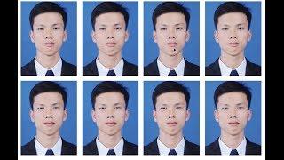 How to make 4 x 6 photo in Photoshop cs6Tutorials  របៀបធ្វើរូបថត 4 x 6