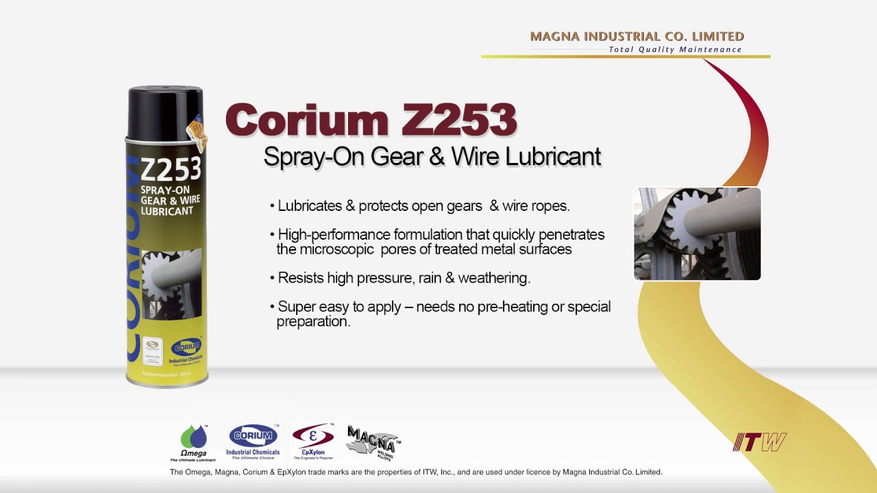 Fantastic Chemtron Wire Rope Lubricant Spray Motif - Electrical ...