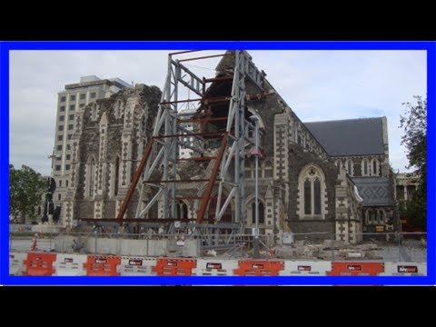 Leaders back christchurch anglican cathedral decision | nz catholic newspaper
