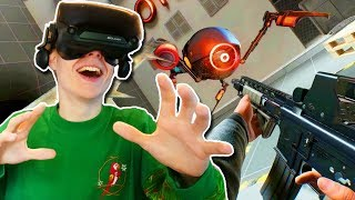 BONEWORKS STORY MODE on the VALVE INDEX! (Haptic VR Suit Gameplay)