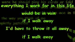 Moonshine Bandits If I Walk Away (Lyrics)