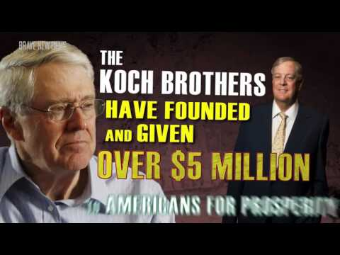 Koch Brothers EXPOSED  2014 ft  Bernie Sanders • FULL DOCUME