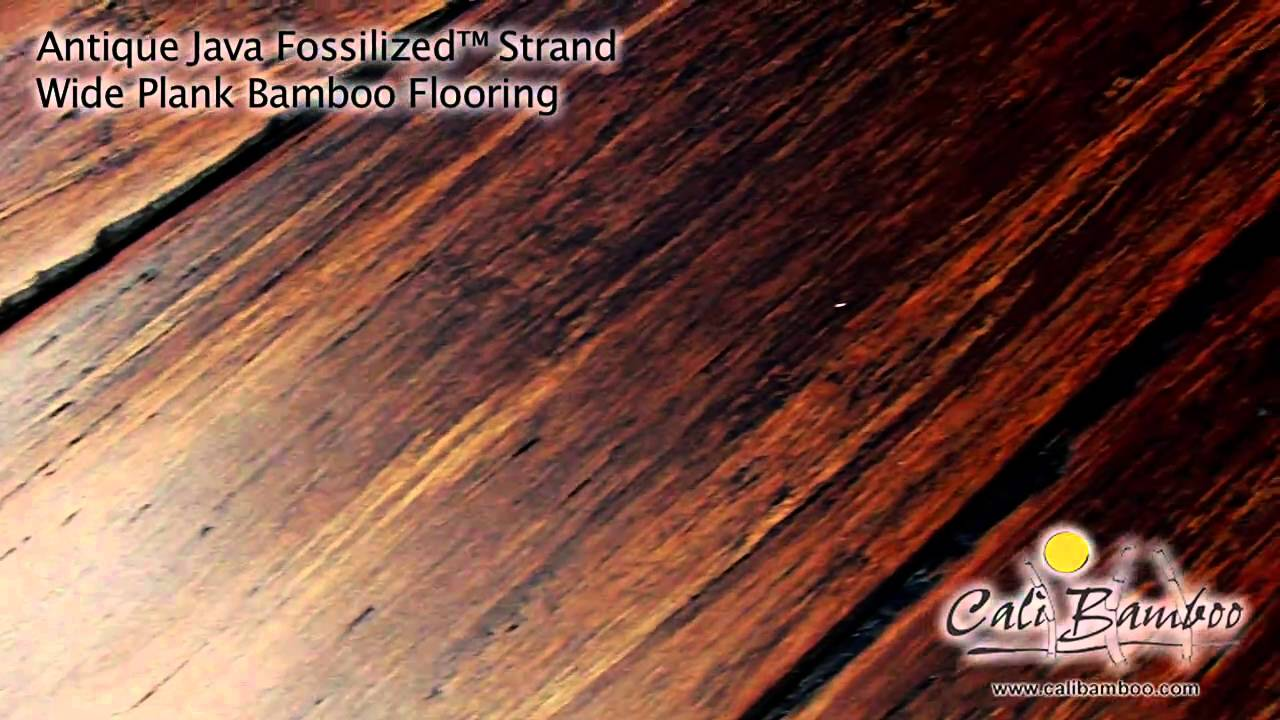 Cali Bamboo Fossilized Antique Java Wide Plank Flooring