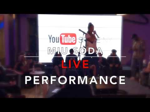 Miu Soda Clean Your Room Live Performance from You Tube Space NY