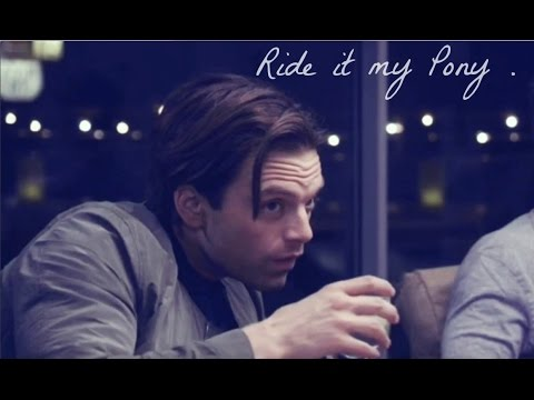 Sebastian Stan - Ride it, my Pony  !