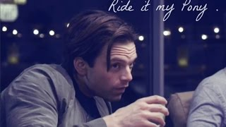 Sebastian Stan Ride It My Pony
