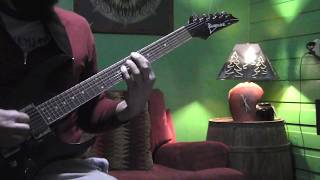 """Between the Buried and Me """"Millions"""" (GUITAR COVER)"""