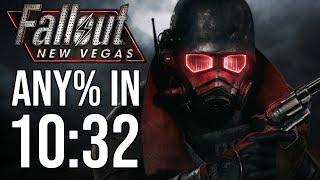 Fallout: New Vegas Any% Speedrun in 10:32