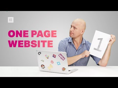 Create a One Page Website on WordPress – Monday Masterclass