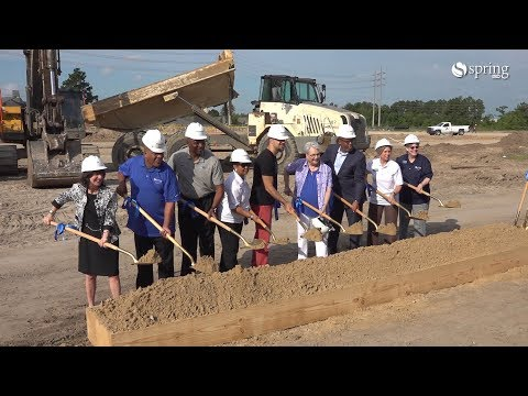 Groundbreaking for Dekaney's New Ninth Grade Center