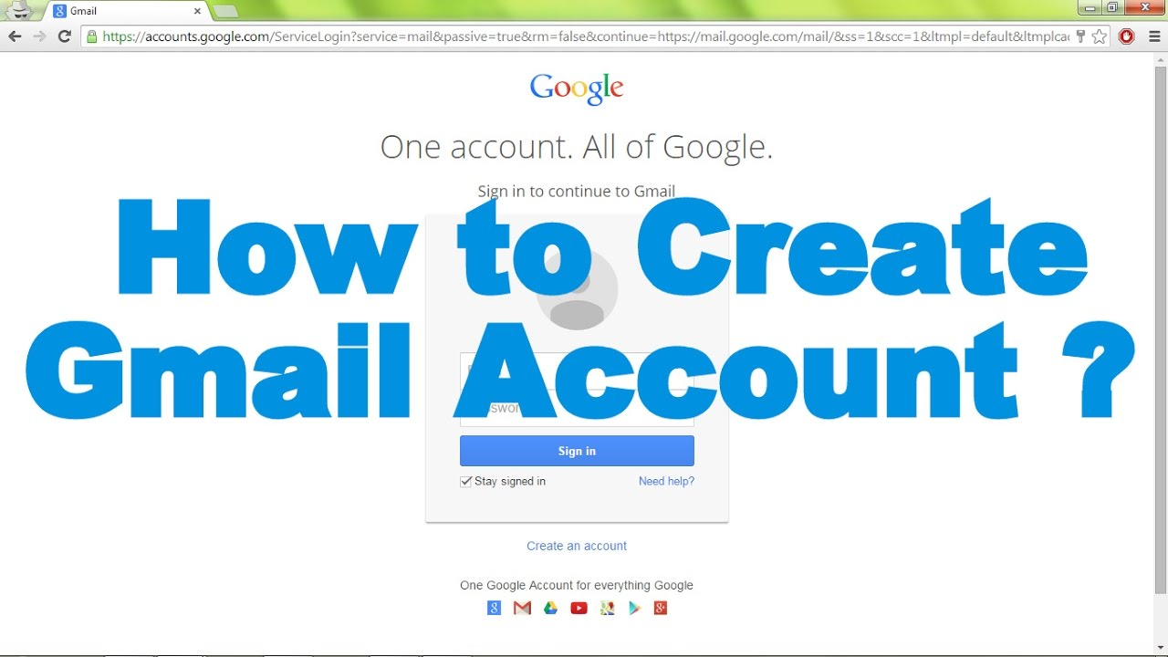 how to create gmail account by easy method.. Bangla ...