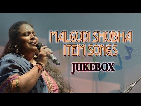 Malgudi Shubha Hit Songs Jukebox    Telugu Item Songs By Malgudi Shubha    Telugu Songs