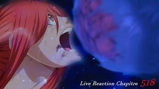 Fairy Tail ~ Live Reaction Chapitre 518 - ERZA PEUT-ELLE ARRÊTER UNE MÉTÉORITE ?