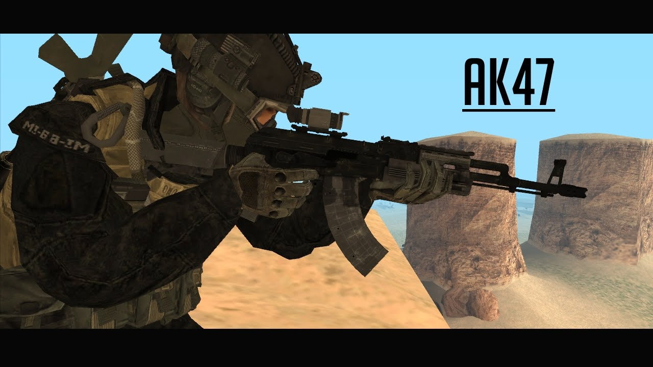 gta san andreas pack realistic military weapons youtube