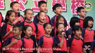 swhps的18-19 P3 Let's Read and Sing Variety Show相片