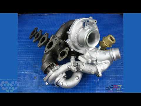 Bi Turbo Turbocharger Turbolader BMW X1 23dX 123 D E81 E82 E84 E87N E88 N47 150 204 PS 54359700030