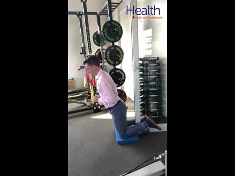 Nordic hamstring curls without a partner | Melbourne Sports Chiropractor