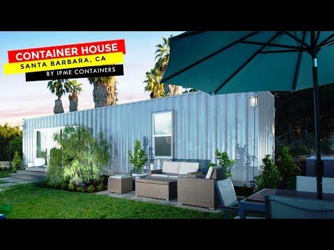 IPME's Shipping Container House in Santa Barbara, California