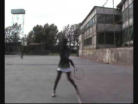 Little African Tennis Star: Saada Nahimana