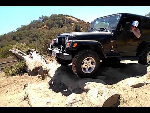 2012 Jeep Wrangler >> my girl friend wheeling her jeep wrangler for the first time - YouTube