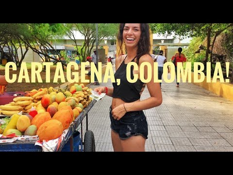 CARTAGENA, COLOMBIA! Adventure babes building homes part one!!