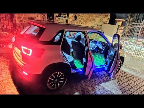 2020 Vitara Brezza ZXi + Full Lighting Video | New Brezza Headights Review | 2020 Modified Brezza |