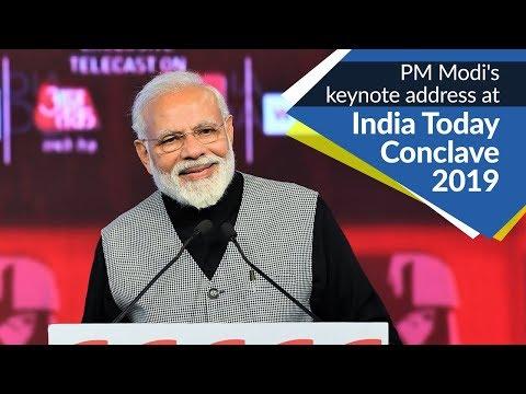 PM Modi's keynote address at 'India Today Conclave 2019' in New Delhi | PMO