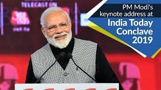 PM Modi's keynote address at 'India Today Conclave 2019' in New Delhi   PMO