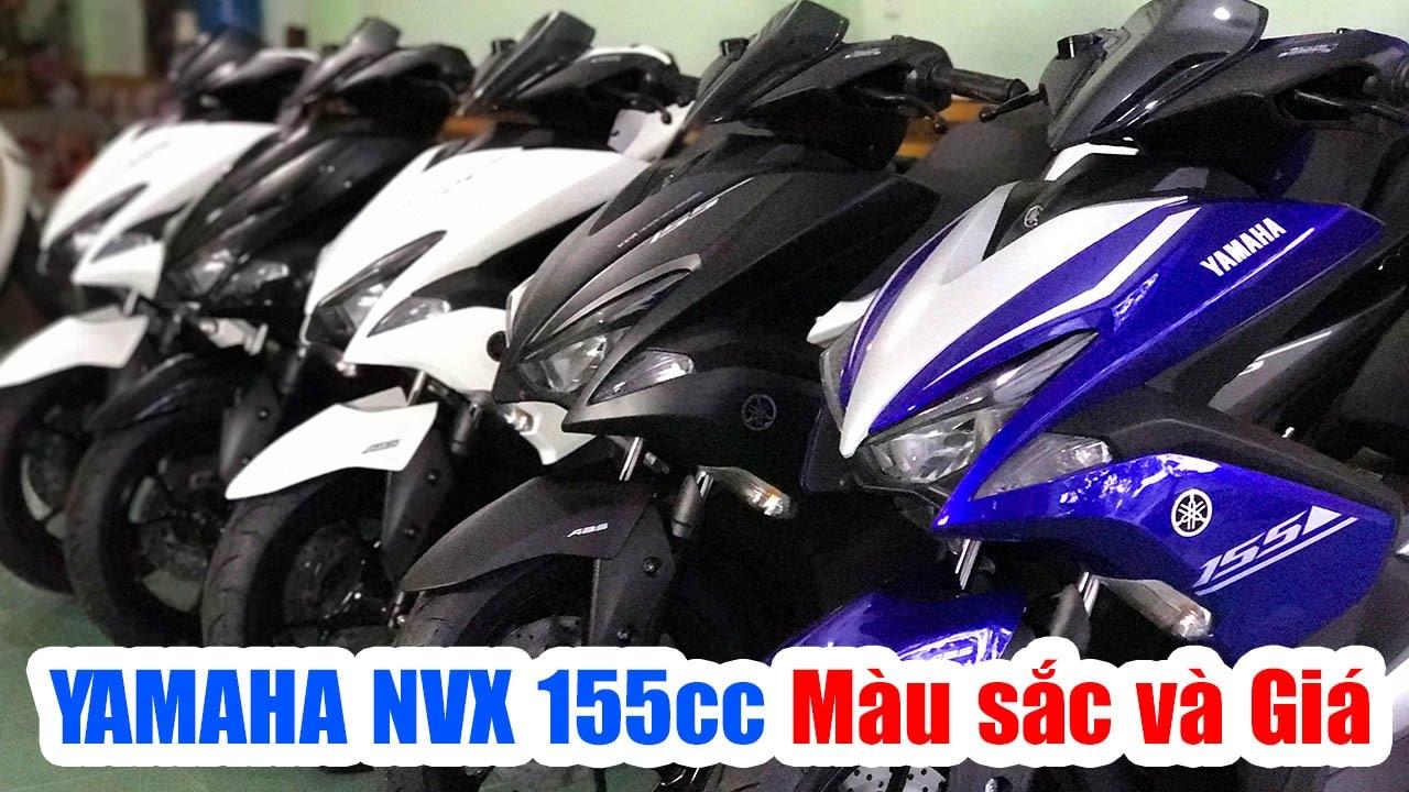Yamaha NVX 155cc ▶ Tổng hợp Màu sắc và Giá xe